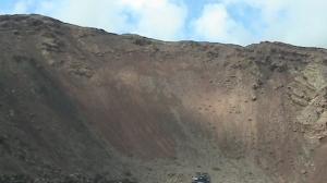 Paisaje volcánico de Lanzarote