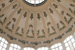 Detalle de la cúpula central