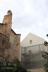 Iglesia y actuación en el Monasterio (actual Centre Cultural del Carme)