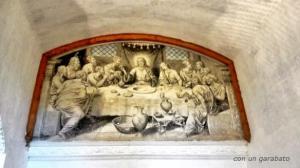 Pintura de Fray Lorenzo en la almazara